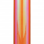 Craft Opal - Coral Orange - 30 cm x 1 m