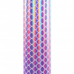 Craft Holo Mosaic - Lilac Mermaid Scales - 30 cm x 1 m